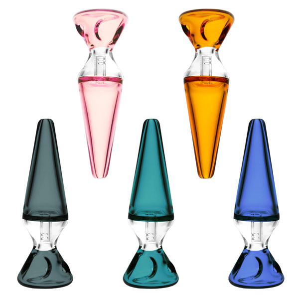 Pulsar Upright Lava Lamp Hand Pipe - 4.25"